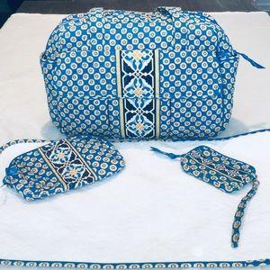 Vera Bradley Diaper Bag-ChangIng Pad -2 Pouches